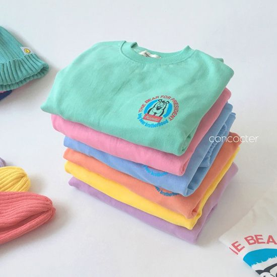 CONCOCTER - BRAND - Korean Children Fashion - #Kfashion4kids - Very Good Sweatshirt+Tee+Shorts+Pants Set