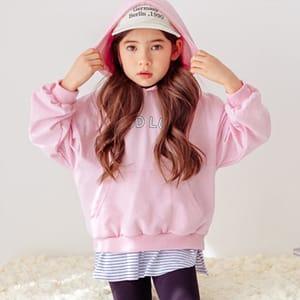 DORE DORE - BRAND - Korean Children Fashion - #Kfashion4kids - Lucky Hoody Sweatshirt