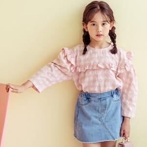 DORE DORE - BRAND - Korean Children Fashion - #Kfashion4kids - Fondue Blouse