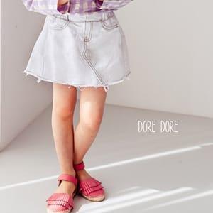 DORE DORE - BRAND - Korean Children Fashion - #Kfashion4kids - Juicy Cotton Skirt Pants