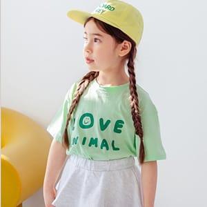 DORE DORE - BRAND - Korean Children Fashion - #Kfashion4kids - Animal Tee