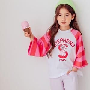 DORE DORE - BRAND - Korean Children Fashion - #Kfashion4kids - Ppi Ppi Long Tee