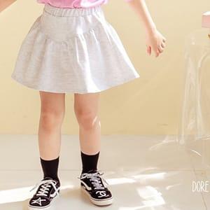 DORE DORE - BRAND - Korean Children Fashion - #Kfashion4kids - V York Skirt Pants