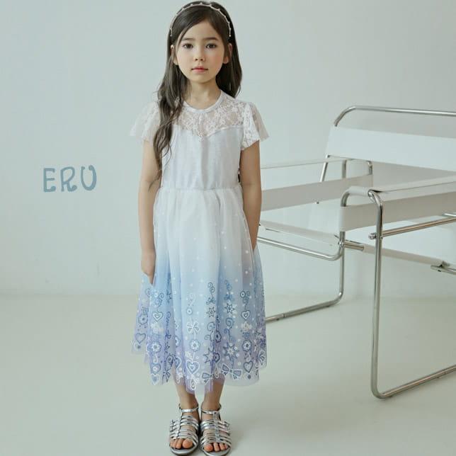 E.RU - BRAND - Korean Children Fashion - #Kfashion4kids - Princess One-piece