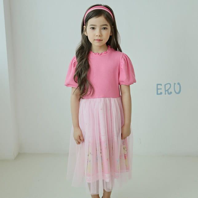 E.RU - BRAND - Korean Children Fashion - #Kfashion4kids - Puddle One-piece