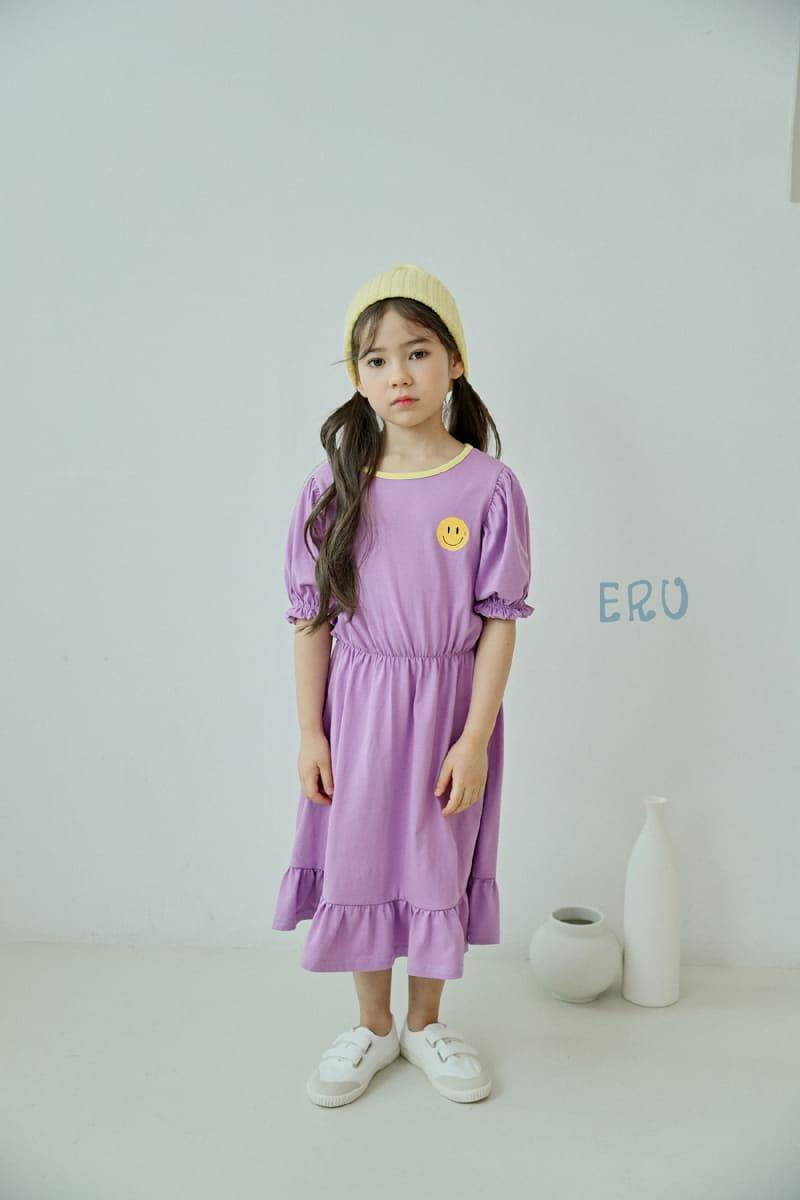 E.RU - Korean Children Fashion - #Kfashion4kids - Smile One-piece
