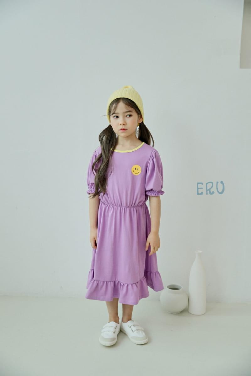 E.RU - Korean Children Fashion - #Kfashion4kids - Smile One-piece - 2