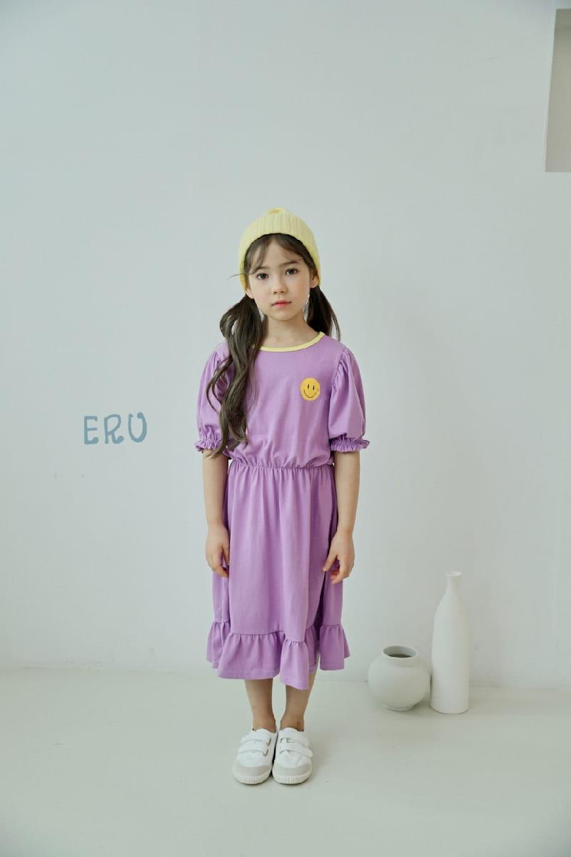 E.RU - Korean Children Fashion - #Kfashion4kids - Smile One-piece - 3