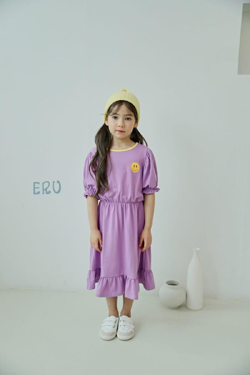 E.RU - Korean Children Fashion - #Kfashion4kids - Smile One-piece - 4