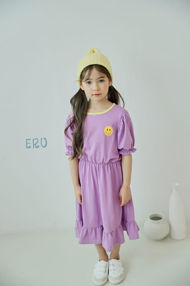 E.RU - Korean Children Fashion - #Kfashion4kids - Smile One-piece - 5