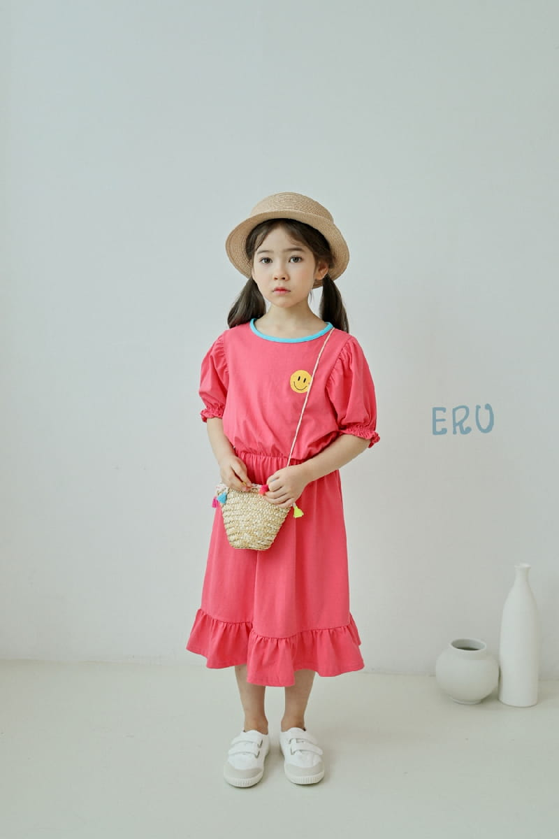 E.RU - Korean Children Fashion - #Kfashion4kids - Smile One-piece - 6