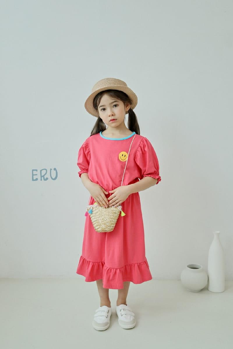 E.RU - Korean Children Fashion - #Kfashion4kids - Smile One-piece - 7
