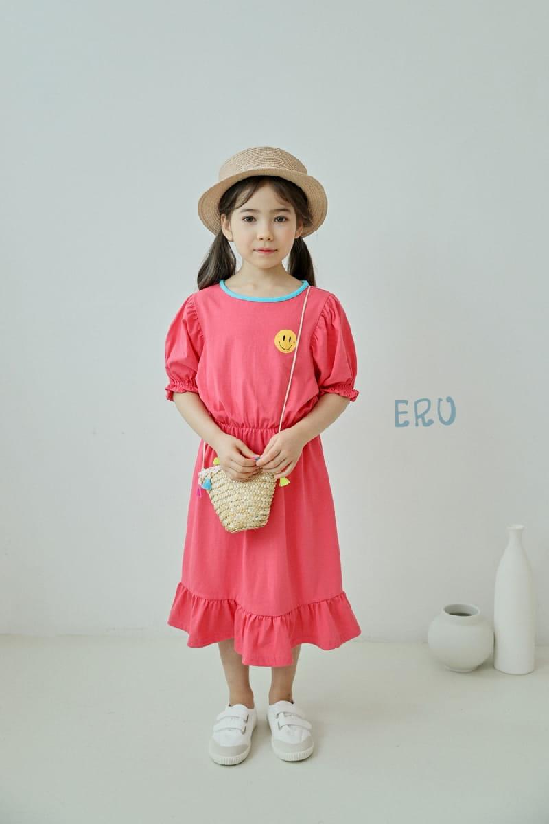 E.RU - Korean Children Fashion - #Kfashion4kids - Smile One-piece - 8