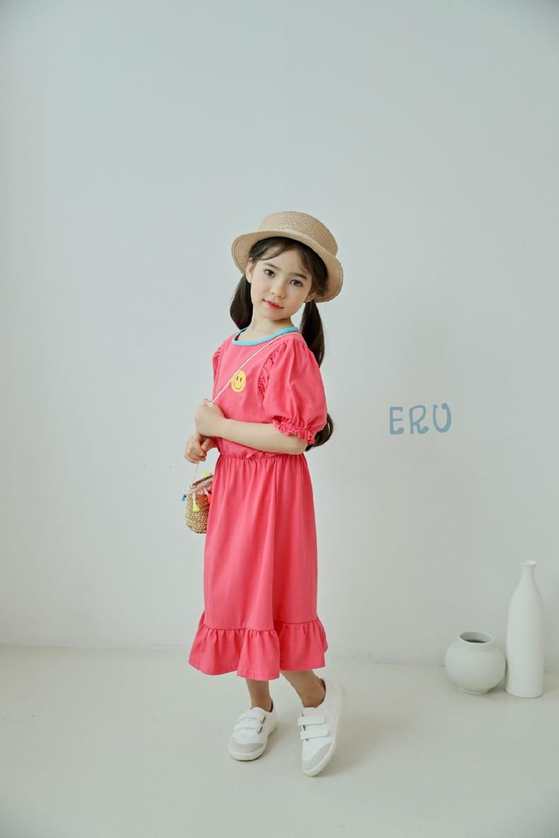 E.RU - Korean Children Fashion - #Kfashion4kids - Smile One-piece - 9