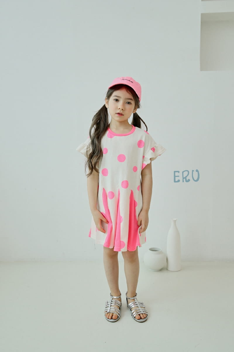 E.RU - Korean Children Fashion - #Kfashion4kids - Dots One-piece