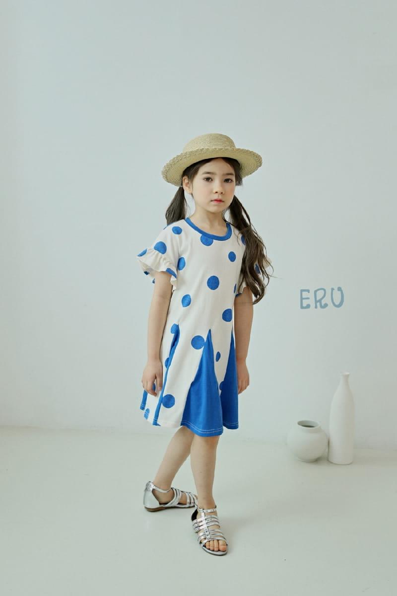 E.RU - Korean Children Fashion - #Kfashion4kids - Dots One-piece - 10