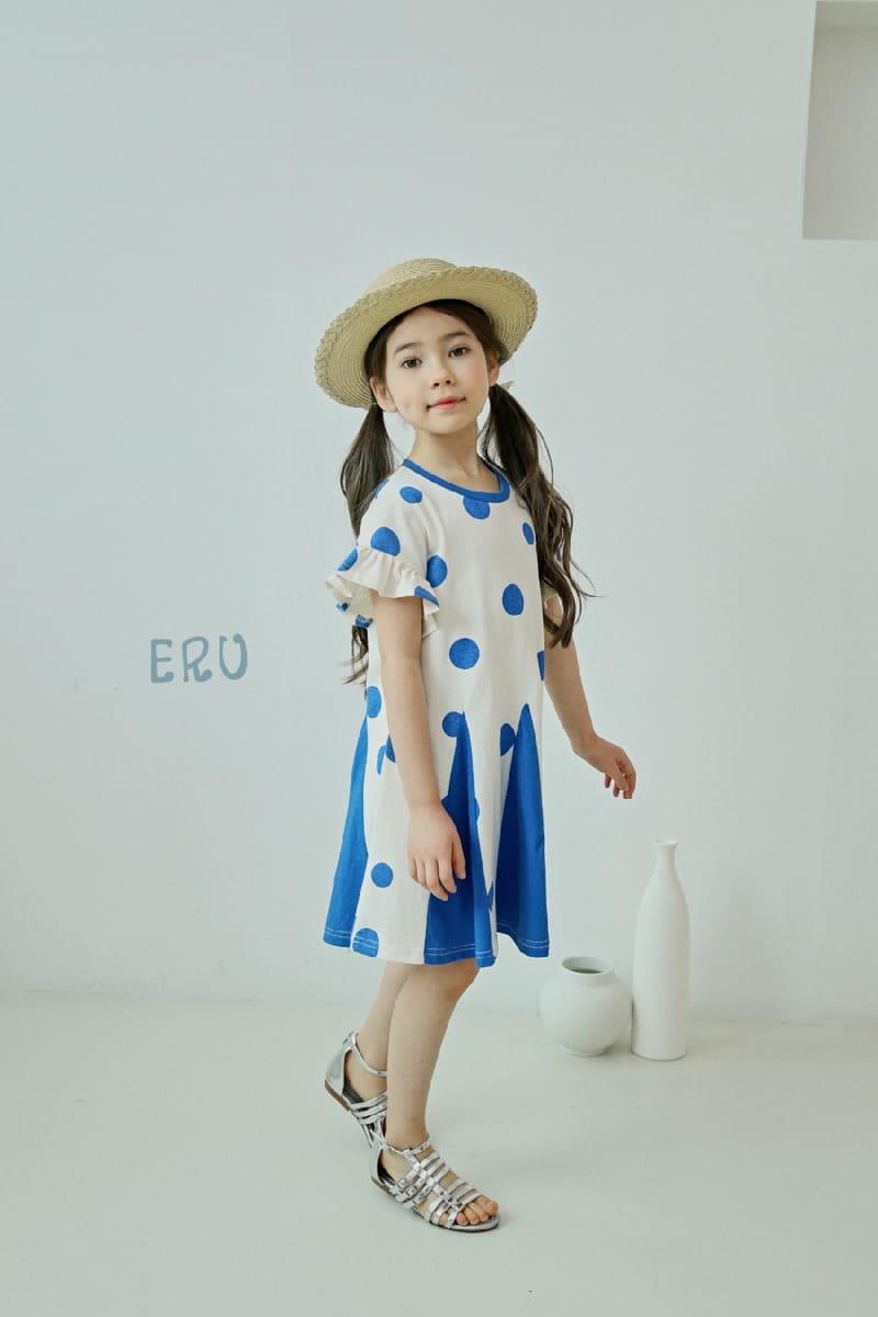E.RU - Korean Children Fashion - #Kfashion4kids - Dots One-piece - 11