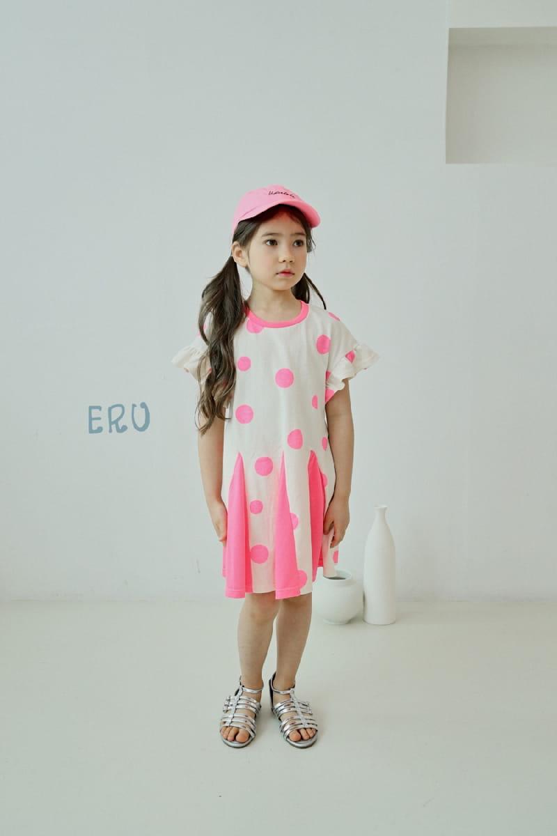 E.RU - Korean Children Fashion - #Kfashion4kids - Dots One-piece - 3