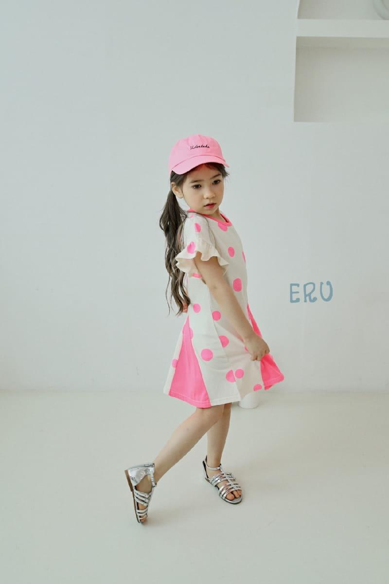E.RU - Korean Children Fashion - #Kfashion4kids - Dots One-piece - 4