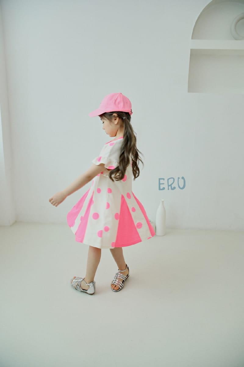 E.RU - Korean Children Fashion - #Kfashion4kids - Dots One-piece - 5