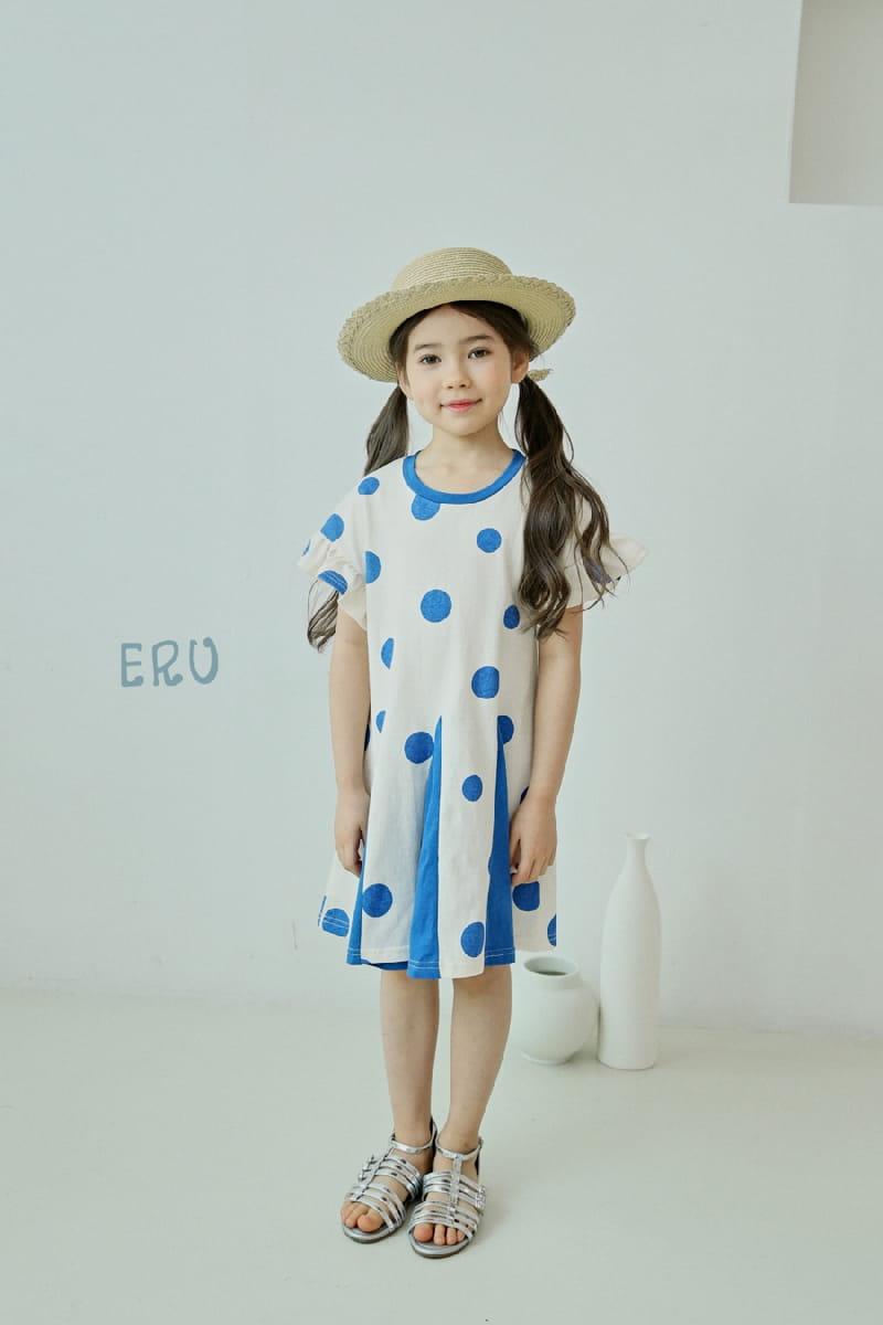 E.RU - Korean Children Fashion - #Kfashion4kids - Dots One-piece - 6