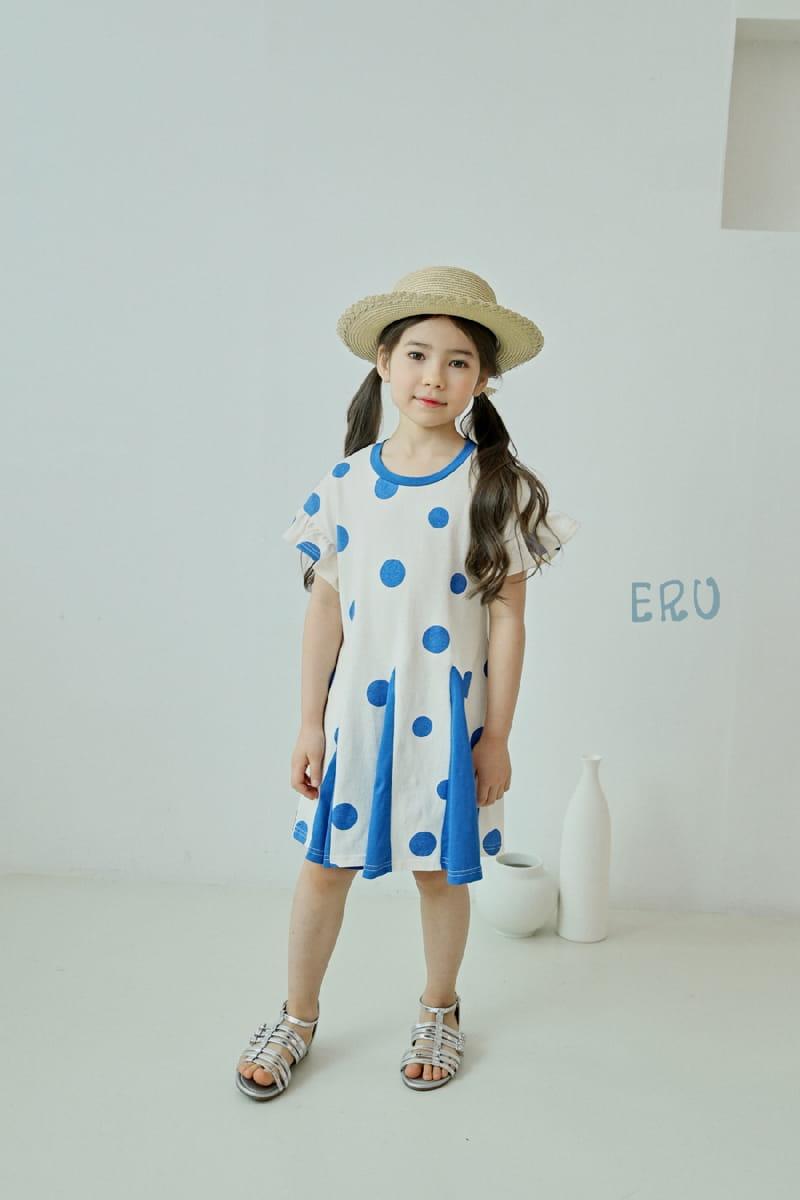 E.RU - Korean Children Fashion - #Kfashion4kids - Dots One-piece - 7