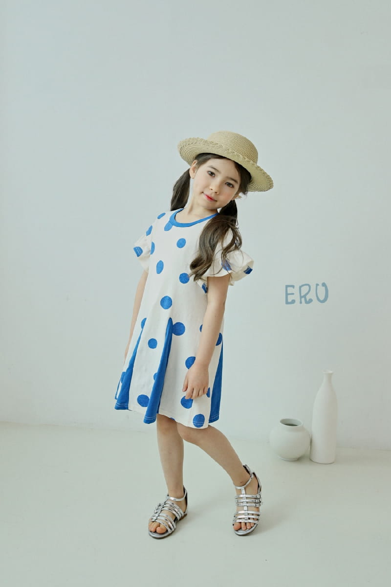 E.RU - Korean Children Fashion - #Kfashion4kids - Dots One-piece - 8