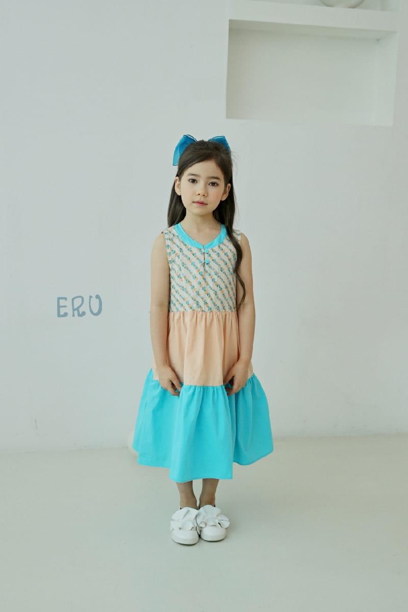 E.RU - Korean Children Fashion - #Kfashion4kids - Cancan One-piece