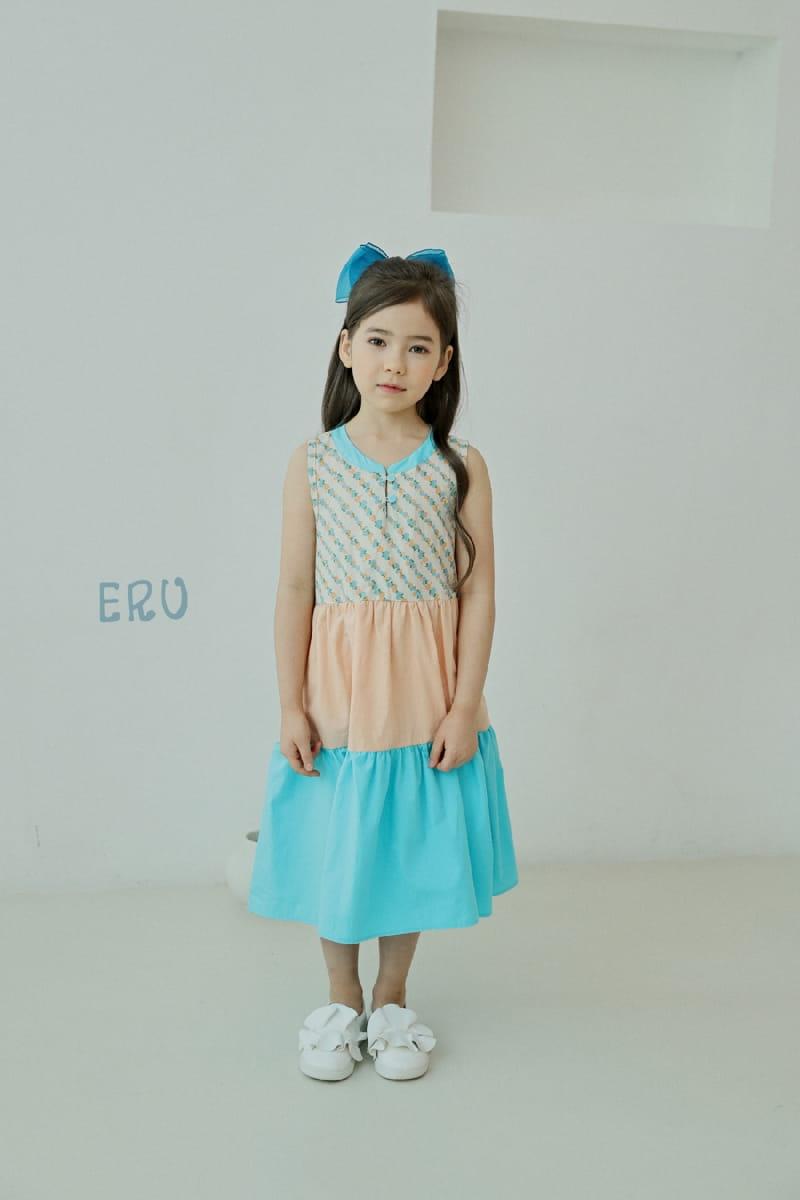 E.RU - Korean Children Fashion - #Kfashion4kids - Cancan One-piece - 2