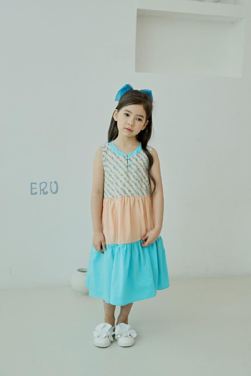 E.RU - Korean Children Fashion - #Kfashion4kids - Cancan One-piece - 3