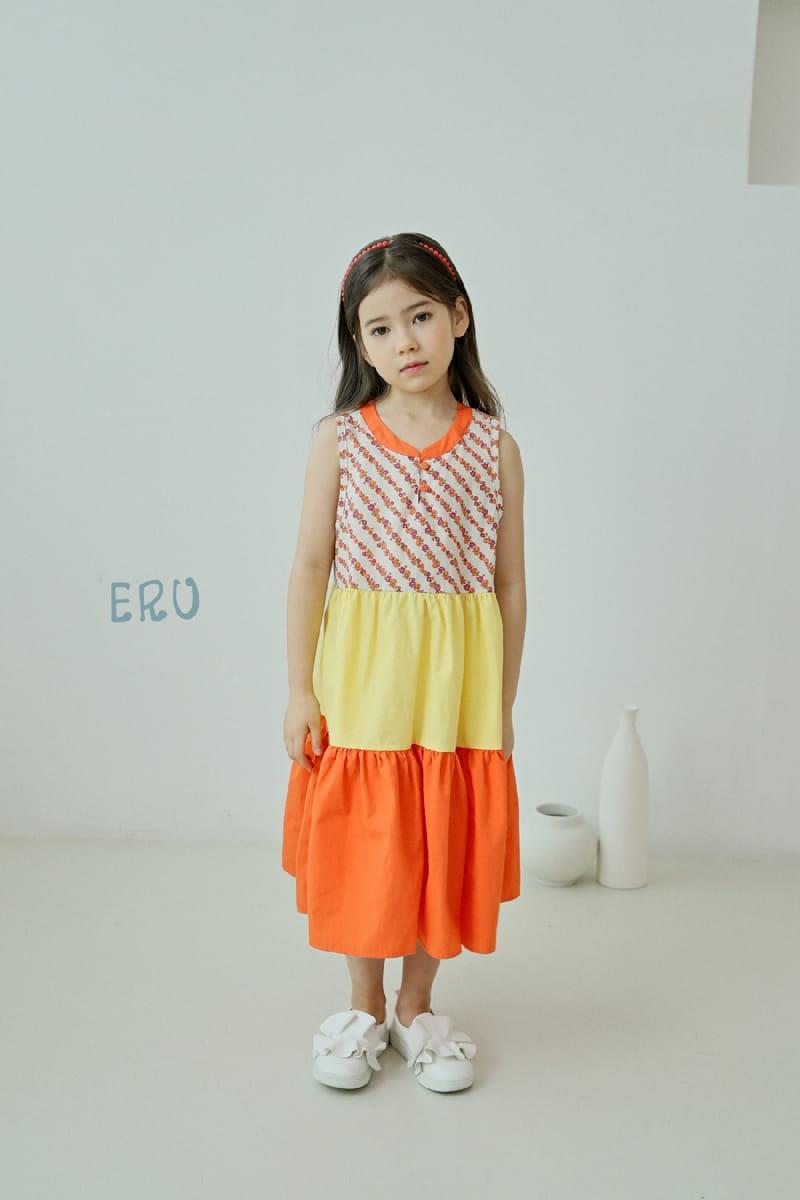 E.RU - Korean Children Fashion - #Kfashion4kids - Cancan One-piece - 4