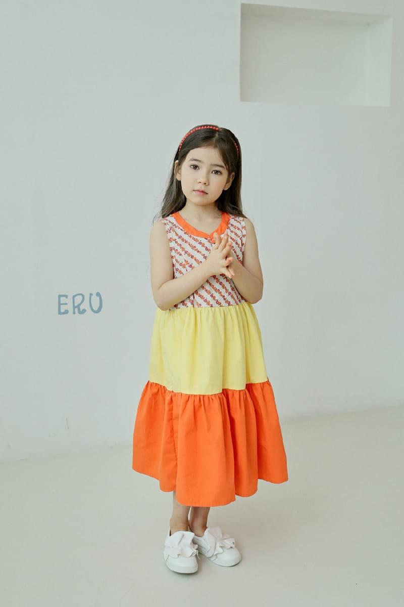 E.RU - Korean Children Fashion - #Kfashion4kids - Cancan One-piece - 5
