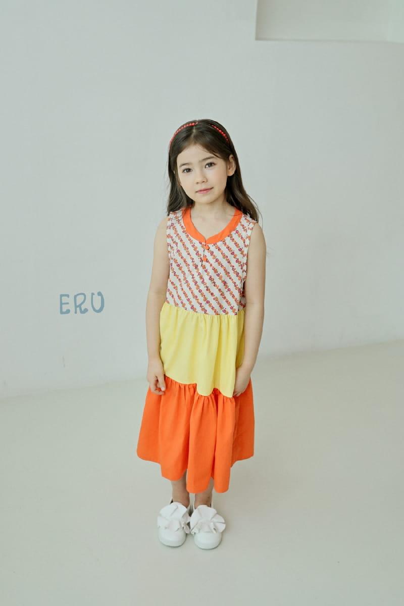 E.RU - Korean Children Fashion - #Kfashion4kids - Cancan One-piece - 6