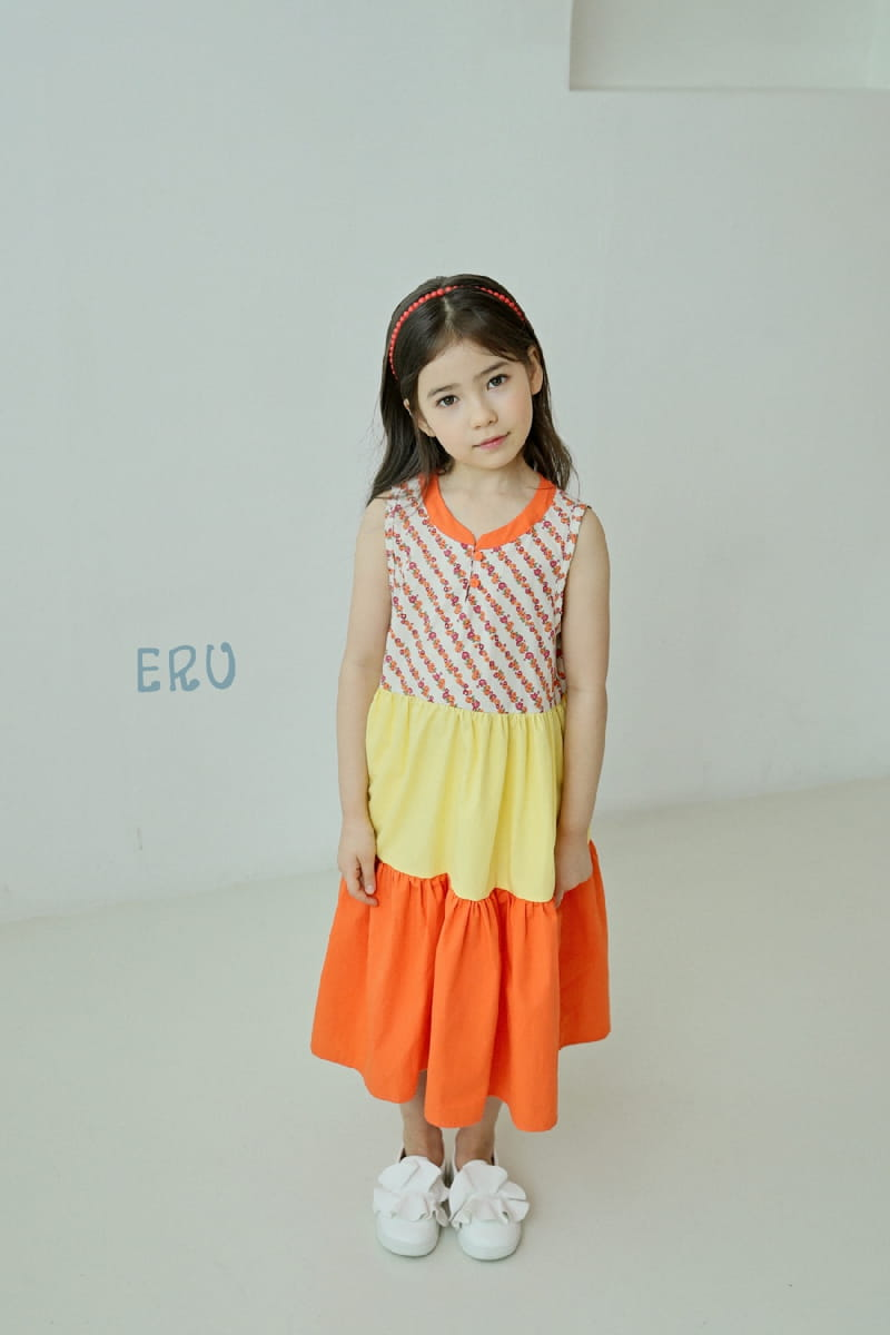 E.RU - Korean Children Fashion - #Kfashion4kids - Cancan One-piece - 7
