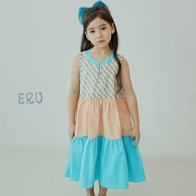 E.RU - BRAND - Korean Children Fashion - #Kfashion4kids - Cancan One-piece