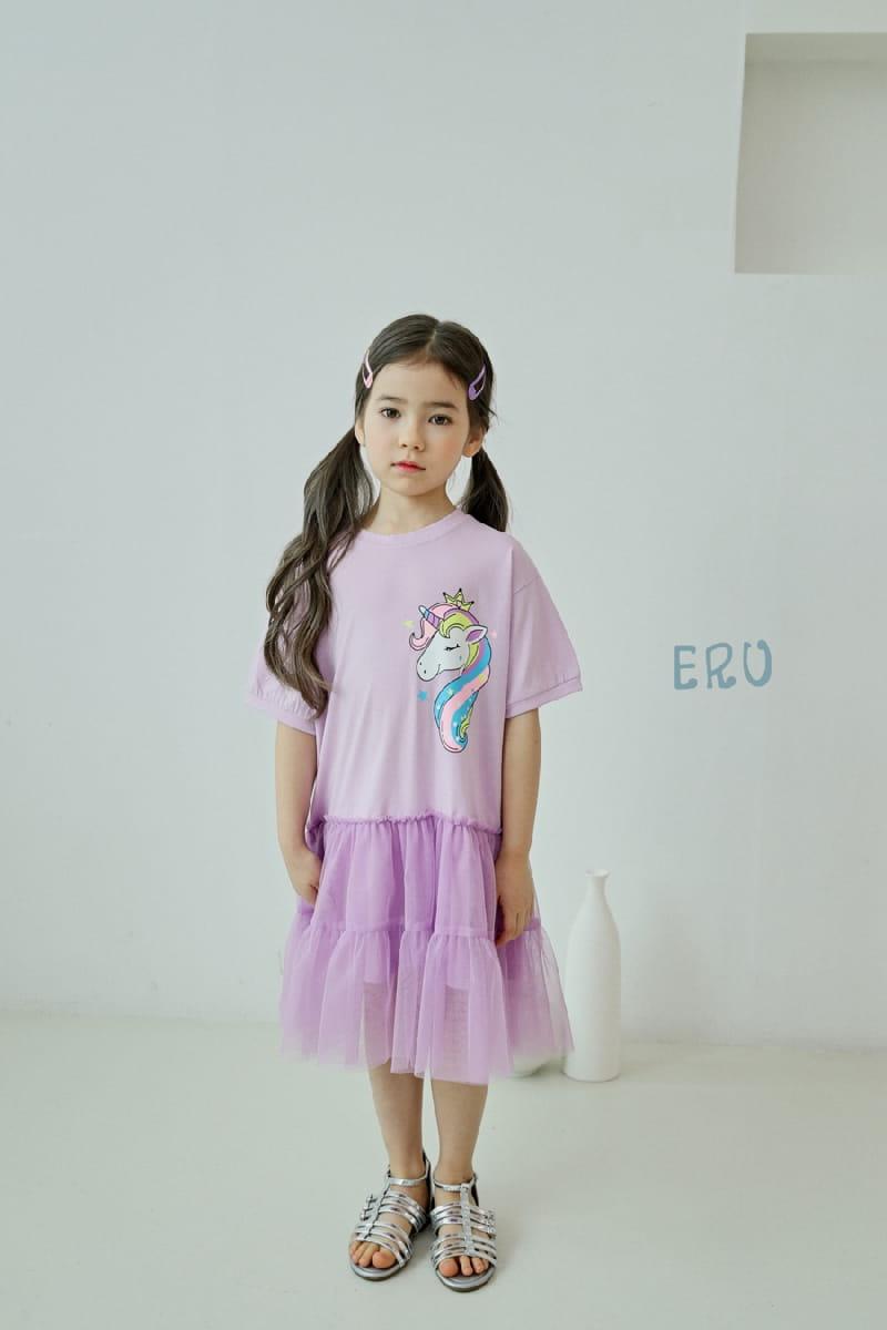 E.RU - Korean Children Fashion - #Kfashion4kids - Unicorn One-piece - 6