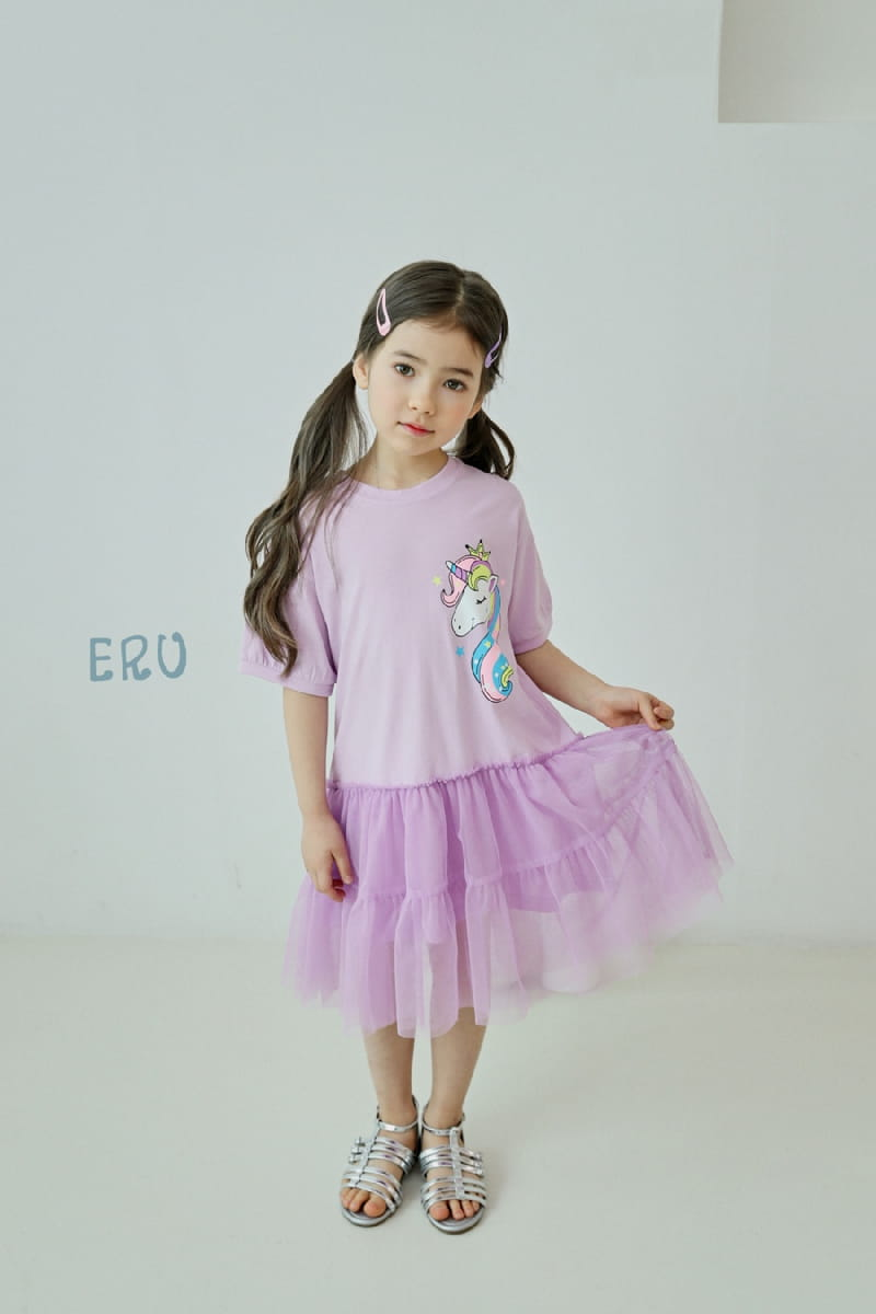 E.RU - Korean Children Fashion - #Kfashion4kids - Unicorn One-piece - 9
