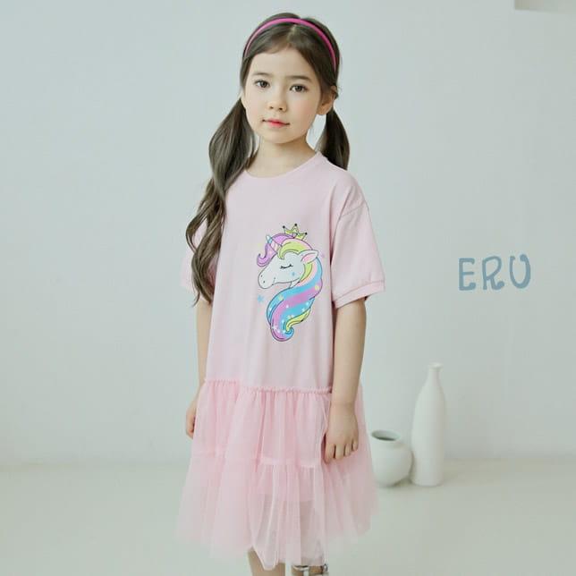 E.RU - BRAND - Korean Children Fashion - #Kfashion4kids - Unicorn One-piece