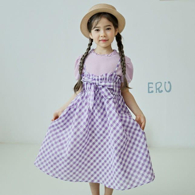 E.RU - BRAND - Korean Children Fashion - #Kfashion4kids - Petti One-piece