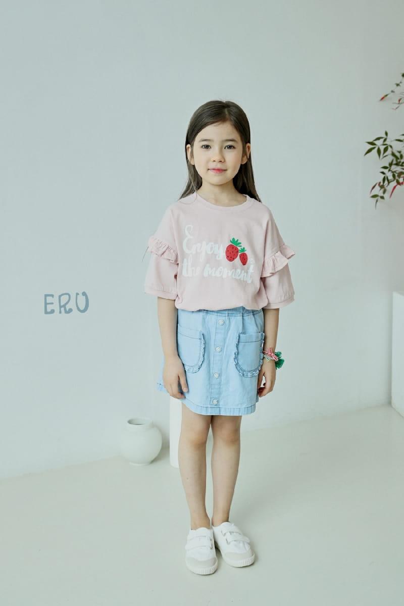 E.RU - Korean Children Fashion - #Kfashion4kids - Strawberry Tee