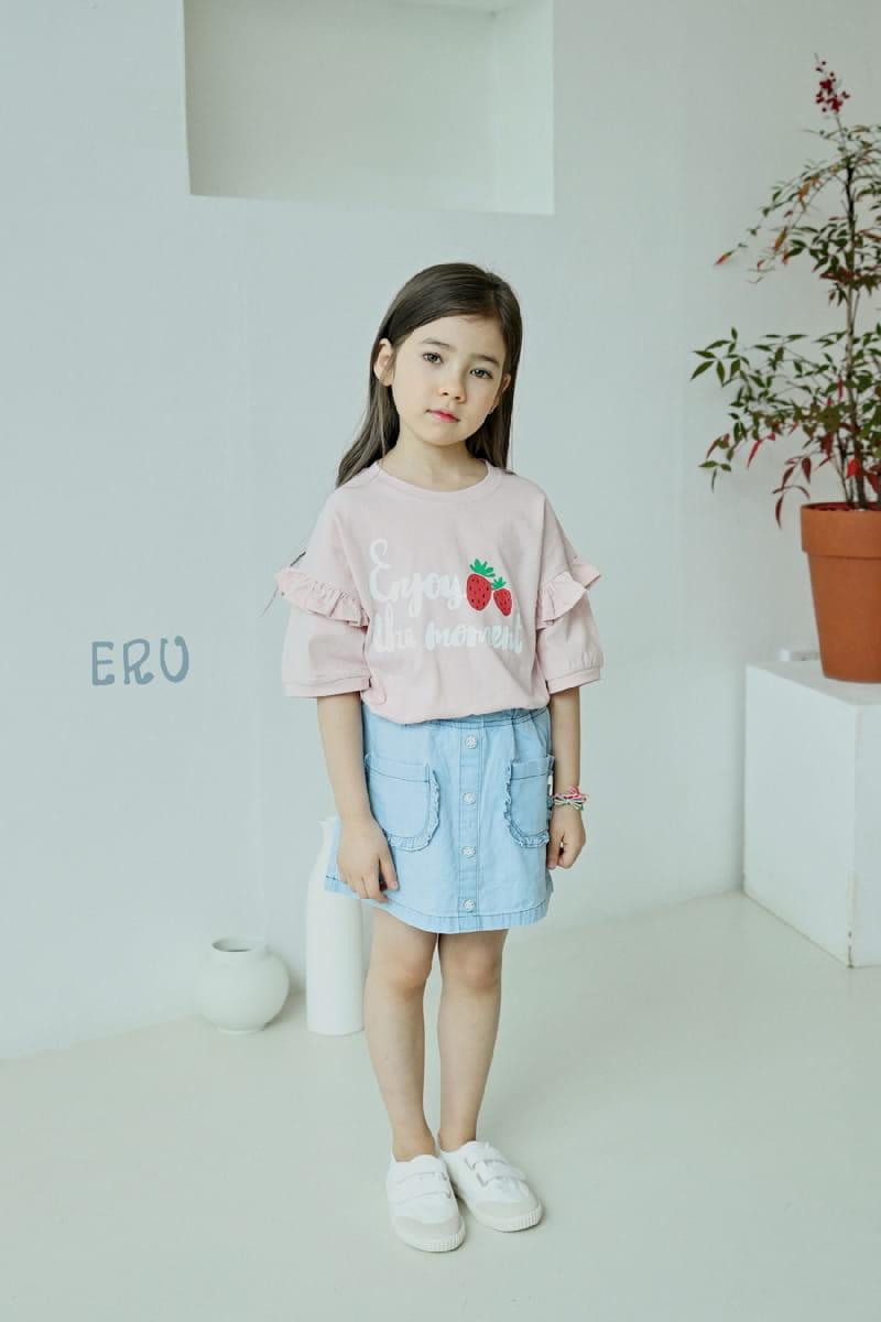 E.RU - Korean Children Fashion - #Kfashion4kids - Strawberry Tee - 2