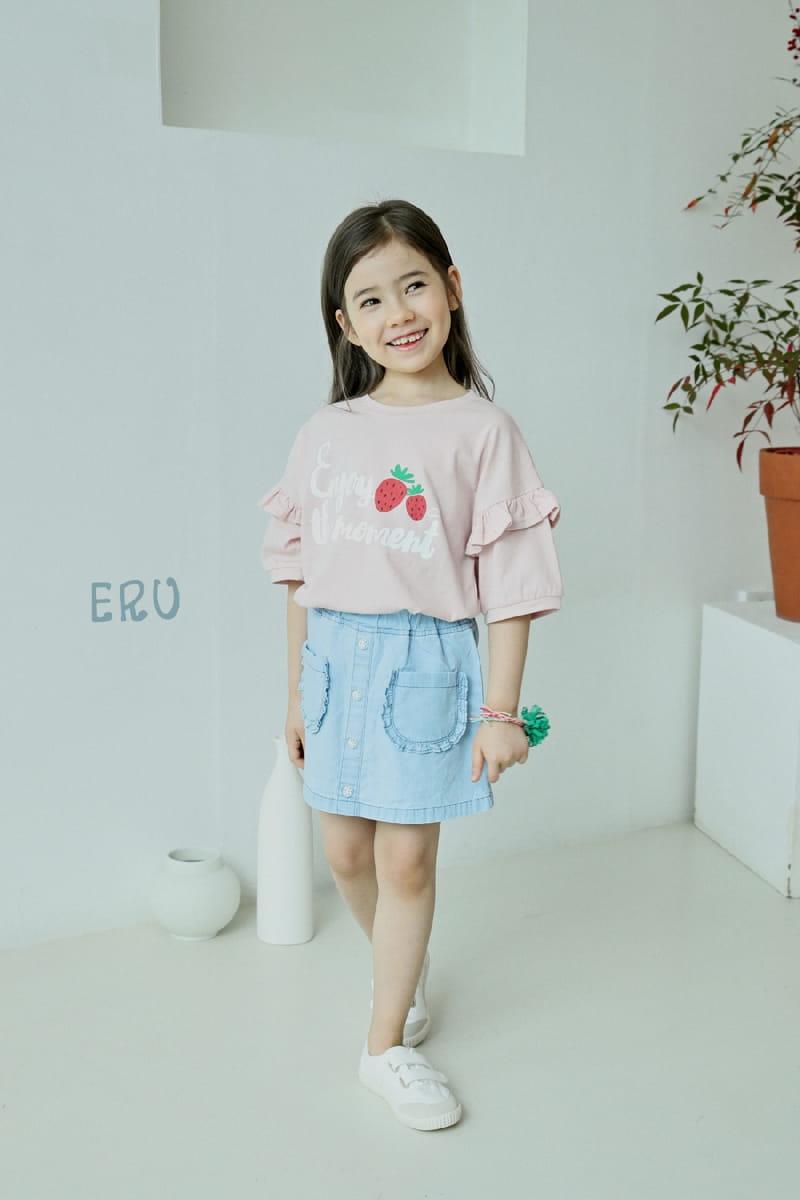 E.RU - Korean Children Fashion - #Kfashion4kids - Strawberry Tee - 3