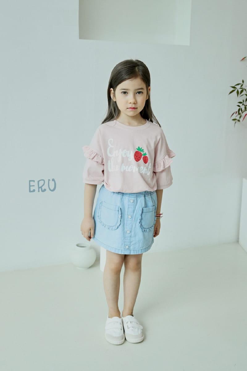 E.RU - Korean Children Fashion - #Kfashion4kids - Strawberry Tee - 4