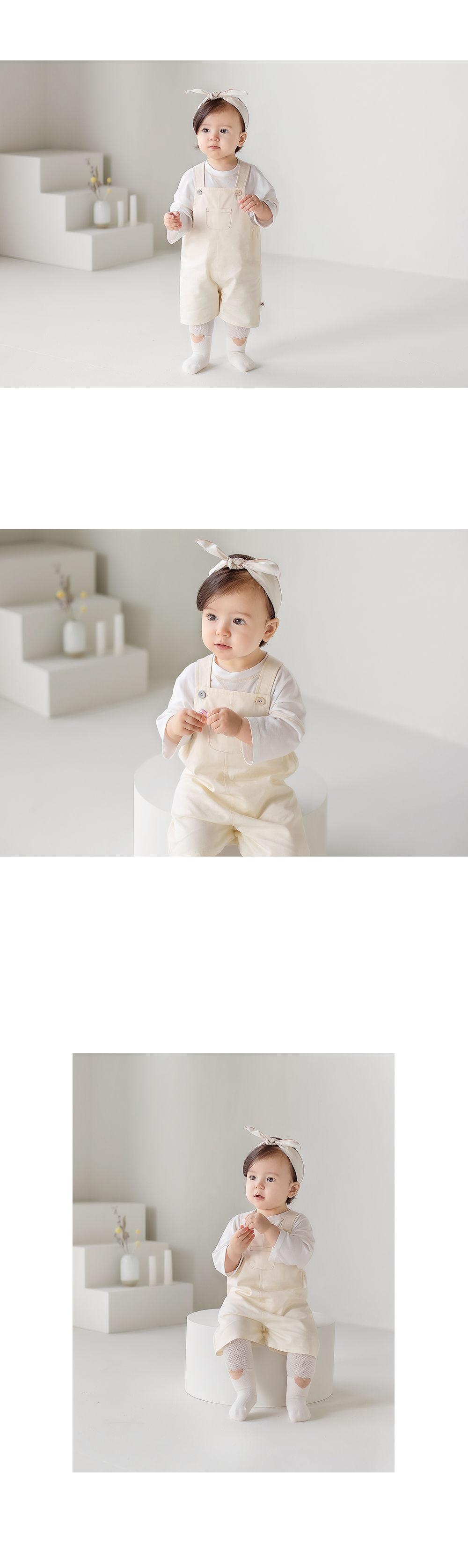 HAPPY PRINCE - Korean Children Fashion - #Kfashion4kids - Finka Baby Overalls - 4