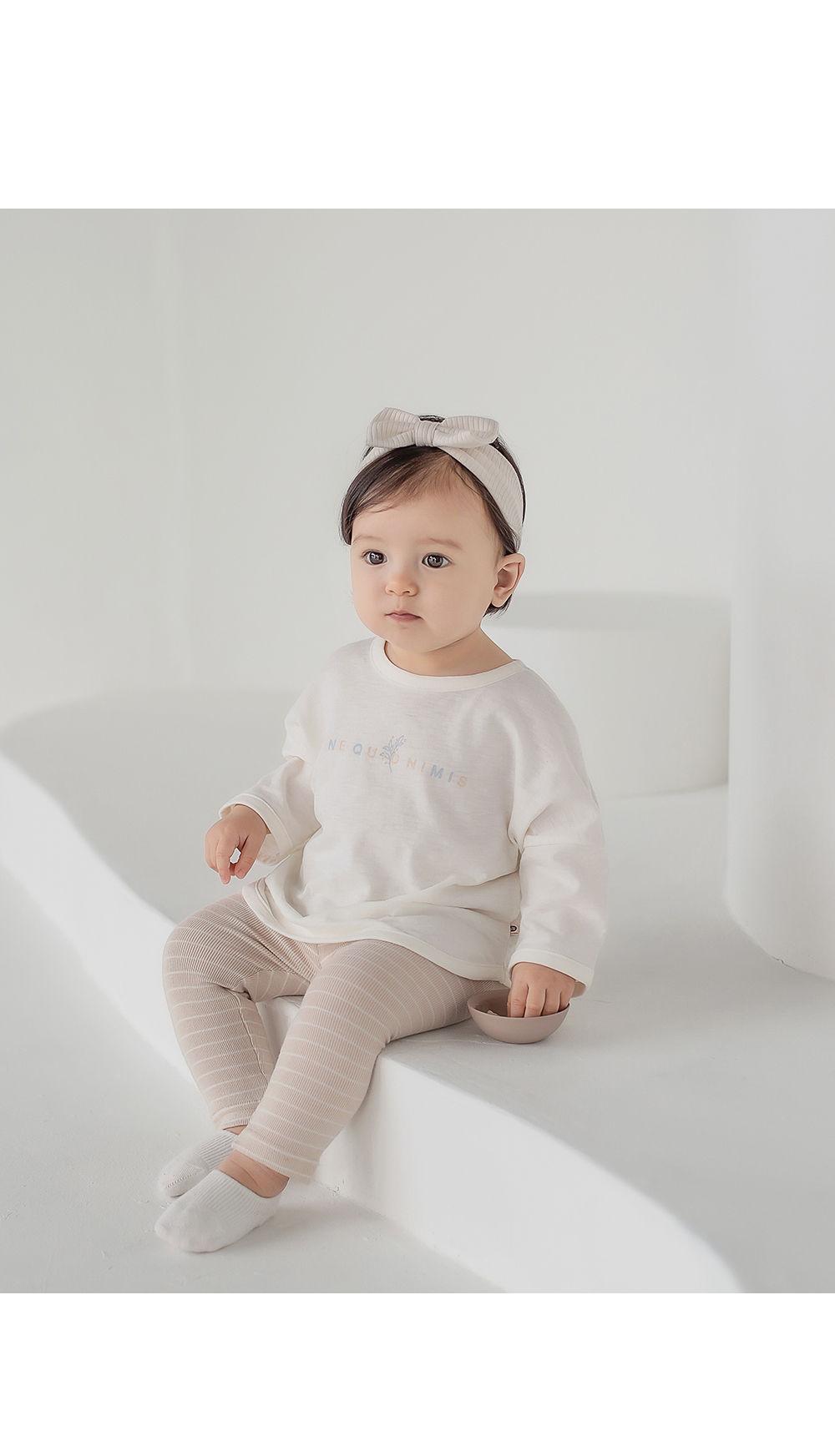 HAPPY PRINCE - Korean Children Fashion - #Kfashion4kids - Sio Baby Tee - 2
