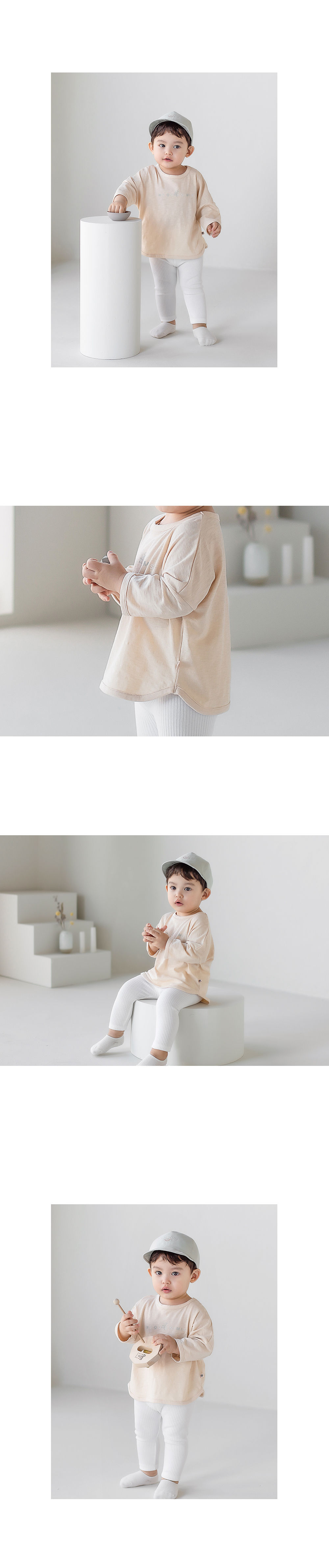 HAPPY PRINCE - Korean Children Fashion - #Kfashion4kids - Sio Baby Tee - 7