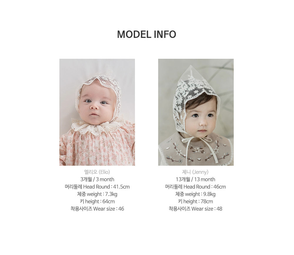 HAPPY PRINCE - Korean Children Fashion - #Kfashion4kids - Benjamin Lace Bonnet - 11