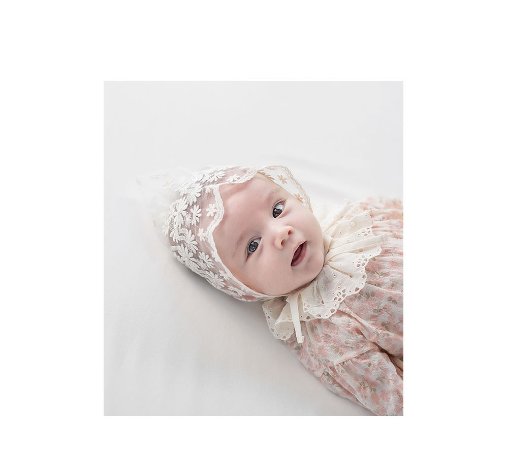 HAPPY PRINCE - Korean Children Fashion - #Kfashion4kids - Benjamin Lace Bonnet - 3
