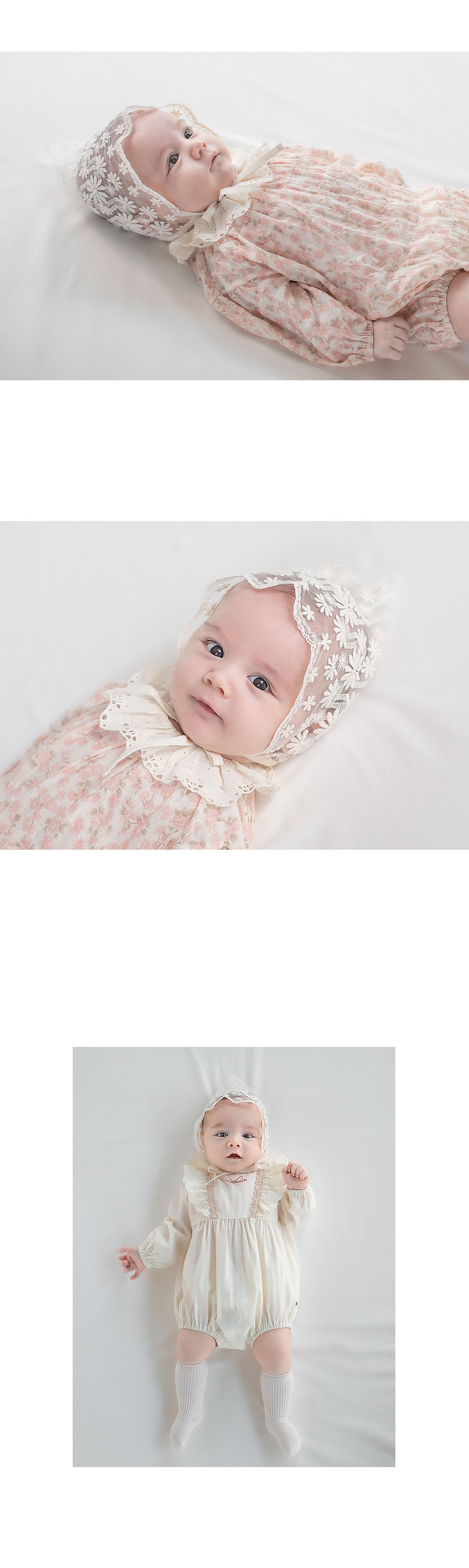 HAPPY PRINCE - Korean Children Fashion - #Kfashion4kids - Benjamin Lace Bonnet - 5