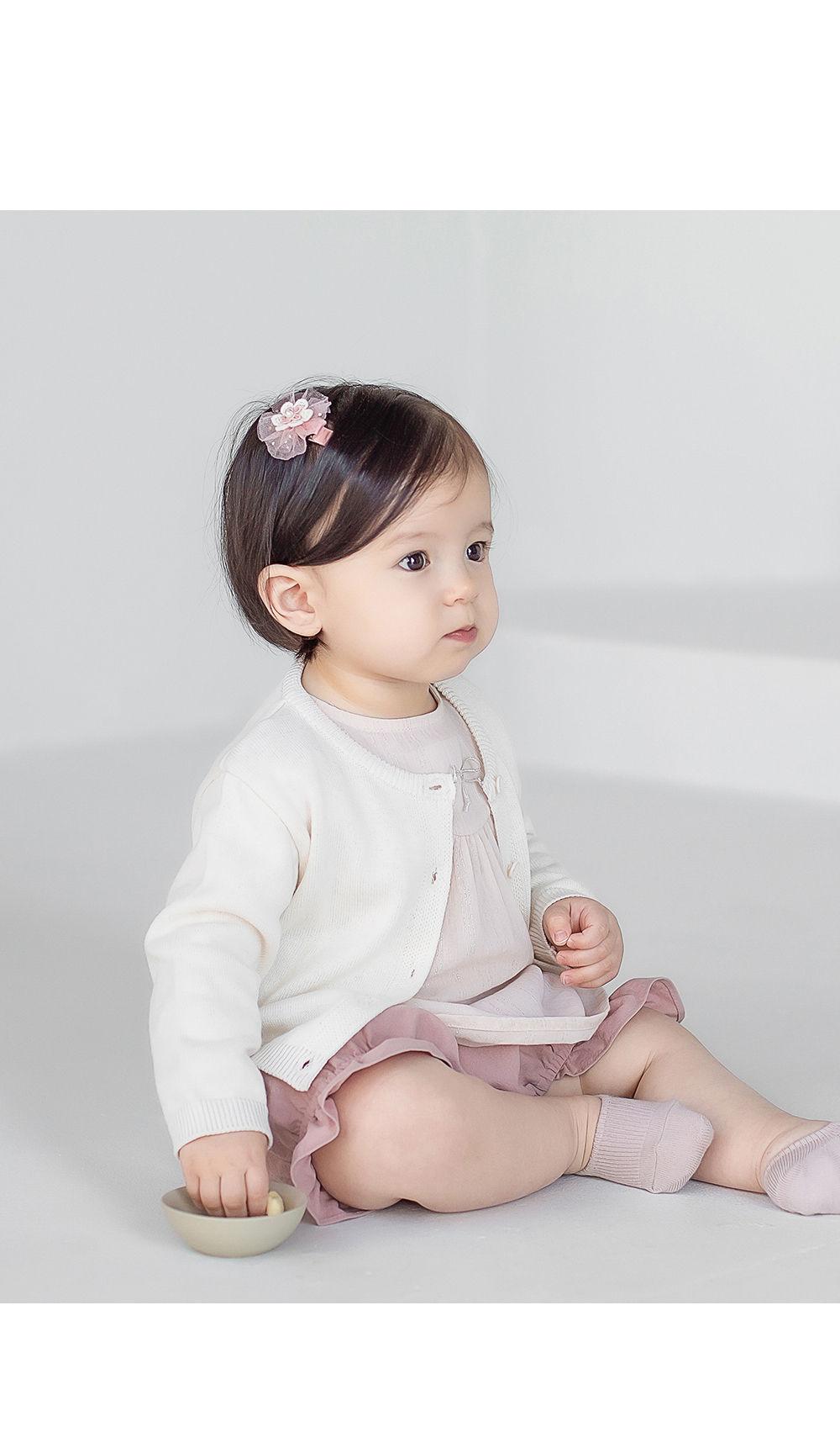 HAPPY PRINCE - Korean Children Fashion - #Kfashion4kids - Vine Knit Cardigan - 2